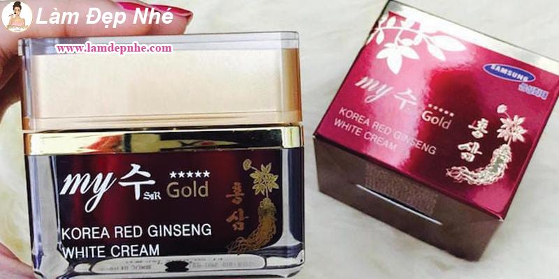 Kem Sâm Hàn Quốc My Gold Giá Bao Nhiêu