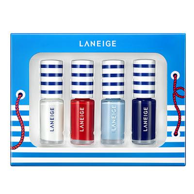 Bộ sơn móng tay thủy thủ Laneige Marine Nail Kit