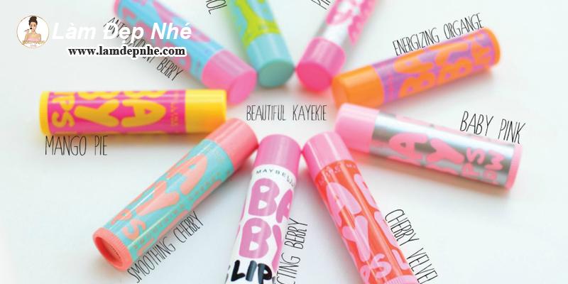 Review son dưỡng môi maybelline baby lips có tốt không