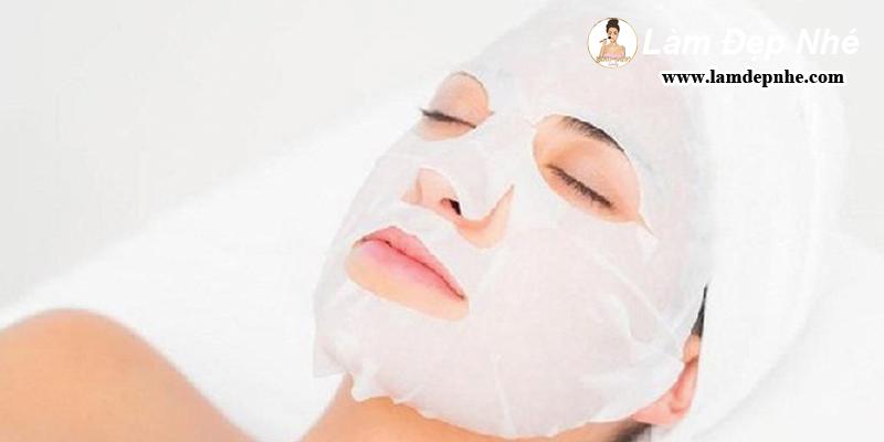 Cách dùng mặt nạ giấy khô