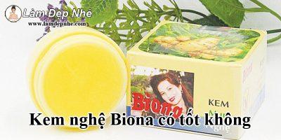 Kem nghệ Biona có tốt không