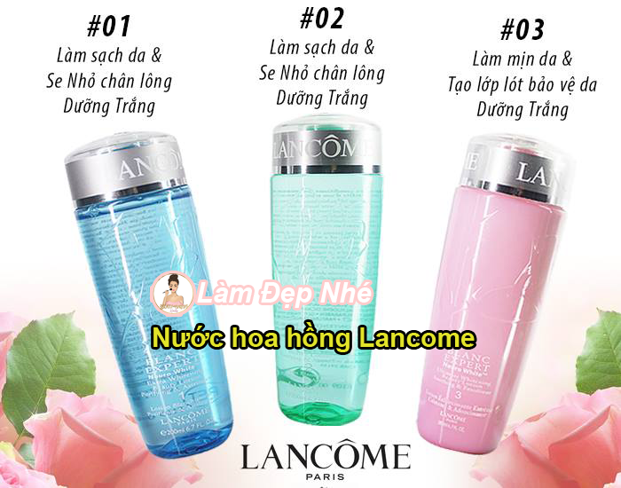 nước hoa hồng Lancome